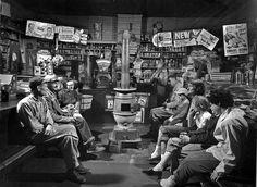 1955 ... O. Winston Link- waiting passengers, via Flickr.