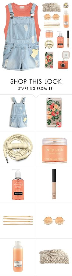 """""""RTD // INSPIRED BY @MANDALORE"""" by fairly-local-on-the-radio ❤ liked on Polyvore featuring American Vintage, Rifle Paper Co, Urbanears, Sara Happ, Neutrogena, NARS Cosmetics, Cara, Davines and DKNY"""