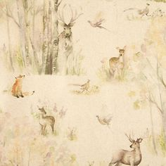 Buy Voyage Enchanted Forest PVC Tablecloth Fabric from our View All Fabrics range at John Lewis & Partners.