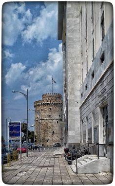 by Sotirios Kapotopoulos Thessaloniki, Ottoman Empire, Macedonia, Nymph, Byzantine, Past, Greece, Tower, Culture