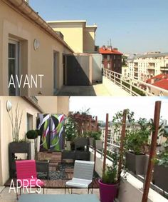 1000 images about comment am nager votre balcon on pinterest balconies tvs and small porches Amenager petite terrasse reve decorer