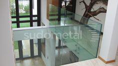 Balustrada din sticla Sudometal