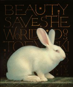 Beauty Saves the World • Egg tempera by Koo Schadler