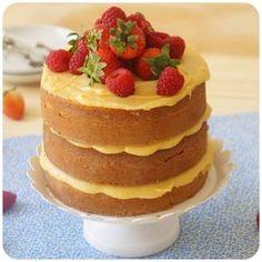 Naked Cake com creme de maracujá | Vídeos e Receitas de Sobremesas
