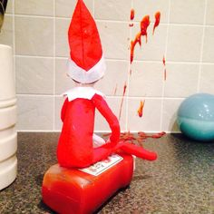 Elf on the Shelf ~ Oops!