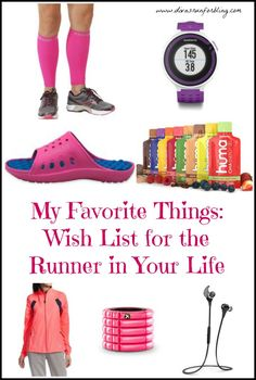Do you have a runner in your life? Check out these gift ideas for the runner in your life.