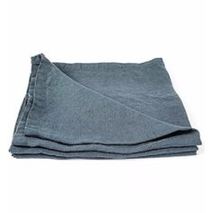 LinenMe Stonewashed Blue Napkin: Prewashed during the production process these 100% pure linen napkins are supersoft to the touch and add texture.