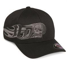 Harley-Davidson Side Skull Stretch Cap
