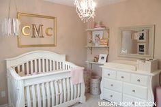 A Glamorous Nursery for Clara
