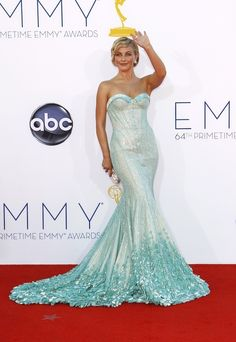 Julieanne Hough - Fashion At The 2012 Emmy Awards
