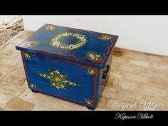 Sewing Table, Viria, Hungary, Home Goods, Decorative Boxes, Facebook, Painted Boxes, Decorative Storage Boxes