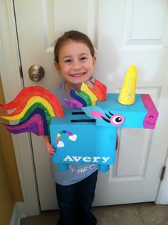 Unicorn valentine box | BabyCenter Blog