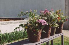 Color at a Kinfolk Flower Potluck. Image via Little Upside Down Cake.