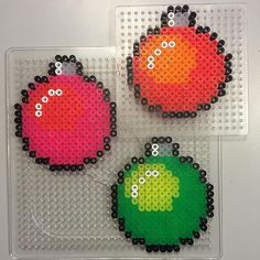 Christmas baubles hama beads by sofiedux More # needlework Christmas baubles ha . Christmas Perler Beads, Christmas Baubles, Christmas Crafts, Fuse Bead Patterns, Beading Patterns, Doily Patterns, Art Perle, Hama Beads Design, Peler Beads