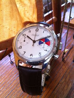 Vintage Gallet Yachting chronograph - Movement Valjoux 7733 - Circa1980