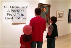 It's easy to assume children won't enjoy an art museum, but it's not necessarily a fair assumption. Here are tips for taking your children to an art museum.