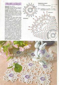 Rosetas-crochê – solange- crochê e tricô – Webová alba Picasa
