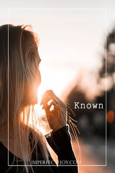"""Being Known by God """"To be fully known and truly loved is a lot like being loved by God."""" Timothy Keller The stress and anxiety does not define me, my Creator does. I Feel Alone, I Am Alone, Do You Feel, How Are You Feeling, Timothy Keller, Why Try, Great Fear, My Struggle, Feeling Lonely"""