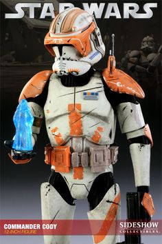 Clone Commander Cody / Sixth Scale Figure / Sideshow Collectibles / Edition size: 1000 / JCG