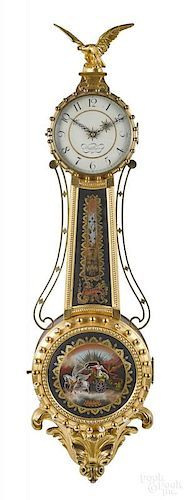Elmer Stennes, banjo clock The Eighth Day, Small Furniture, Banjo, Clocks, Auction, Website, House, Home