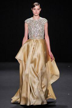 Naeem Khan Fall 2013 RTW Collection - Fashion on TheCut