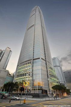 Two International Finance Centre (88 floors, completion in 2003), Central, Hong Kong Island