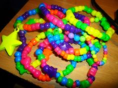 colorful kandi bracelets