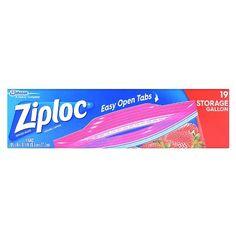 Ziploc Storage Gallon Bags : Target