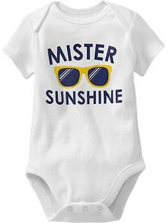 Humor-Graphic Bodysuits for Baby | Old Navy  http://oldnavy.gap.com/browse/product.do?cid=1005512&vid=1&pid=921027152