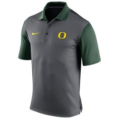 Men's Nike Oregon Ducks Preseason Dri-FIT Performance Polo, Size: