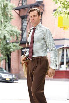 Great Color Mixing for Fall #Belk #Men #Suit
