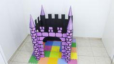 castelo de papelão, casa de papelão, castelo, faça você mesmo