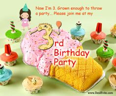 The parents keep their children happy by keeping the his/her favorite food items in the #birthday party.