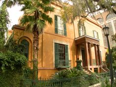 The haunted Sorrel-Weed house in Savannah… take a tour of this magnificent mansion when you visit!