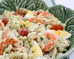 Shrimp Louie Macaroni Salad | Wives with Knives