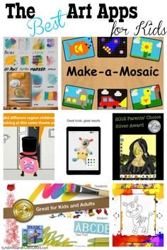Do you have a child who loves to express themselves through art? There are so many great ways to encourage their creative spirits, even when there isn't time for a mess or you are on the go. You'll find all the inspiration your little artist needs in these fun and engaging Best Art Apps for Kids. SunshineandHurricanes.com