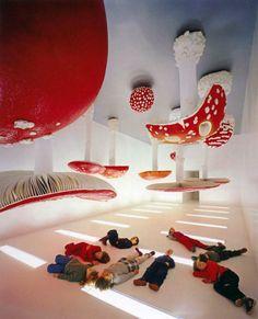 PATTERN & SHAPE - Upside Down Mushroom Room Carsten Höller