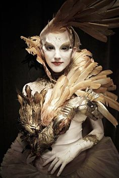 Face Off – – Swan Lake Challenge (Season Finale) Team Tate. Face Off Makeup, Fx Makeup, Face Off Syfy, Character Inspiration, Character Design, Prosthetic Makeup, Movie Makeup, Fantasy Make Up, Theatrical Makeup