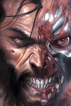 #Ilustración Wolverine lobezno cómic para #llienzo #póster o fotolienzo en foam…