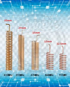 DIY 433 to 915 Mhz Antenna. Electronics Projects, Hobby Electronics, Electrical Projects, Cool Electronics, Electronics Components, Useful Electronic Projects, Electrical Installation, Electronic Circuit Design, Electronic Engineering