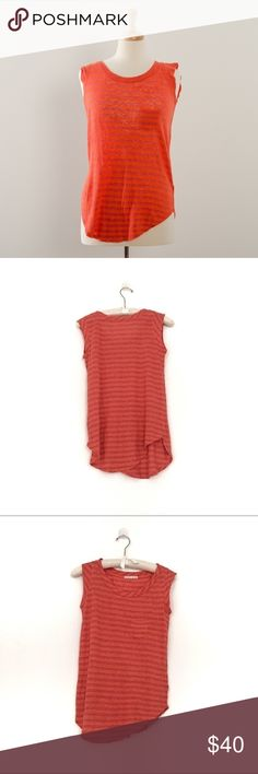 Alternative apparel linen tank Excellent condition  Linen is a textile made from the fibers of the flax plant. Linen is laborious to manufacture, but the fiber is very absorbent and garments made of linen are valued for their exceptional coolness and freshness in hot weather. Alternative Apparel Tops
