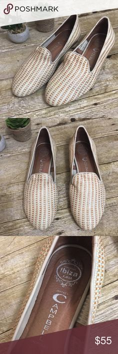 Jeffrey Campbell Ibiza Last Woven Flats SZ 8 Handmade Woven Ibiza Last Flats. Signs of wear to soles but plenty of life left. Jeffrey Campbell Shoes Flats & Loafers
