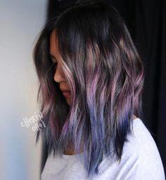 It looks good on textured hair.