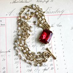 Great holiday necklace