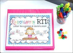 Kindergarten RTI: Letter Identification & Recognition - The Inspired Apple