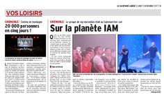 IAM dans le Dauphiné Libéré le 13 novembre 2017