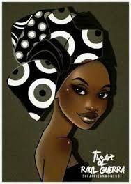 Resultado de imagem para pinturas em tecidos caras de negras