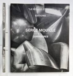 """Serge Mouille Luminaires """"Le regard D'Alan"""" Editions 1993"""