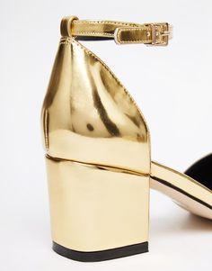 Image 4 ofASOS SPARKLE Embellished Heels