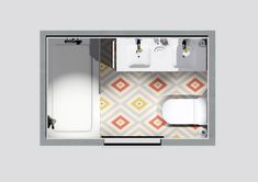 Baño estilo vintage renovado #baño #bathroom #vintage #hisbalit #decotheco